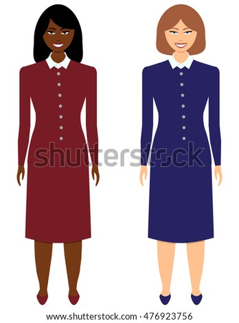 Set of Business Women