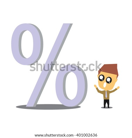 set of businessman vector character with different pose