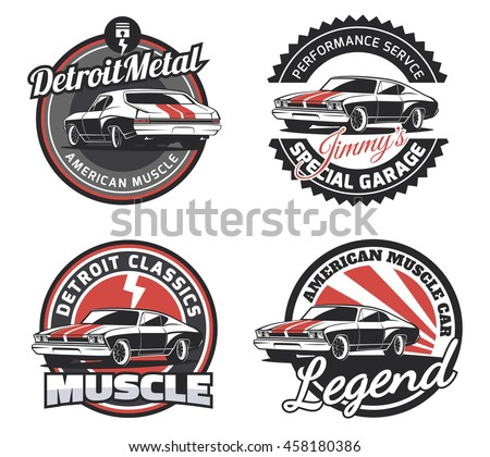 Muscle Car Stock Images, Royalty-Free Images & Vectors | Shutterstock