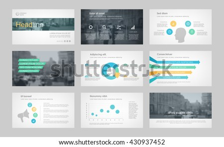 Set of color infographic elements for presentation templates. Leaflet, Annual report, book cover design. Brochure, layout, Flyer layout template design. Easy to edit. - stock vector