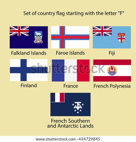 countries that start with the letter d set country flag starting letter g stock vector 434729845 20985