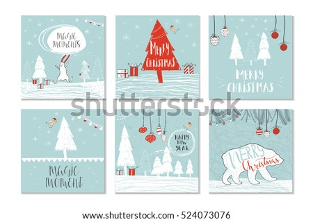 Christmas Infographic Sample Data Information Charts Stock Vector ...