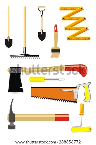set of diy icons
