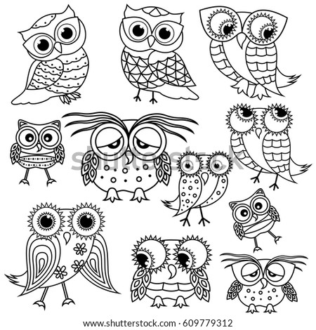 Serious Owl Stock Images Royalty Free Images Amp Vectors
