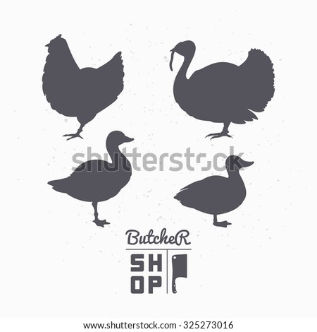 Turkey Silhouette Stock Images RoyaltyFree Images  Vectors
