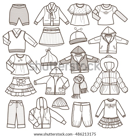 Boy Fashion Design Coloring Pages