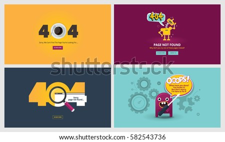 404 not found html template - error message stock images royalty free images vectors