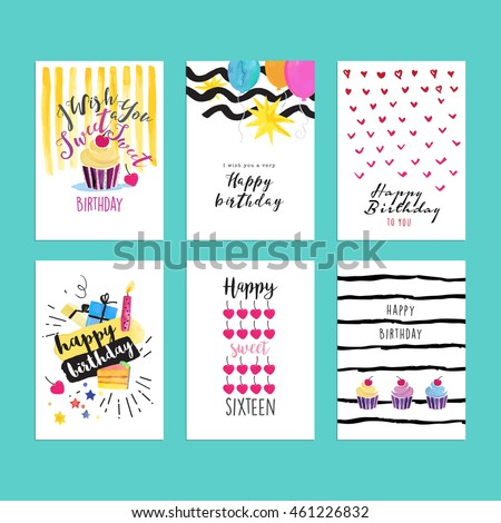 Watercolor Birthday Card Im genes pagas y sin cargo y vectores en – Website for Birthday Cards