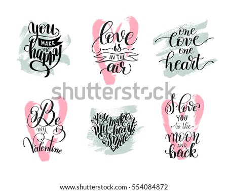 Love Art Quotes Custom Love Quotes Stock Images Royaltyfree Images & Vectors  Shutterstock