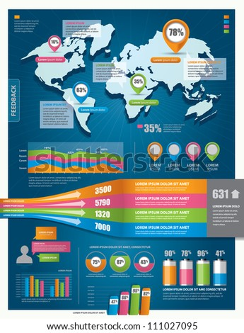Set infographic elements world map information vectores en stock set infographic elements world map information vectores en stock 111027095 shutterstock gumiabroncs Image collections