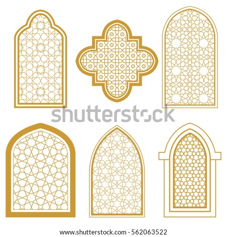 Arches stock images royalty free images vectors for Window design template