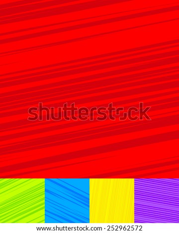 Set of liny backgrounds. Lines, abstract linear patterns. editable vector textures - stock vector