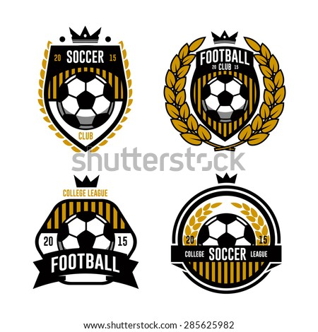 football logo stock photos images amp pictures shutterstock