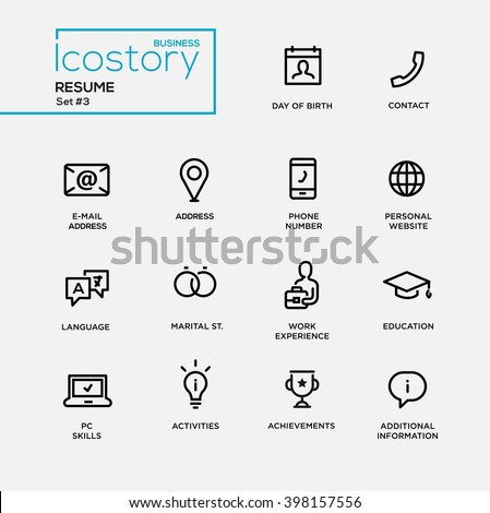 Resume Stock Images Royalty Free Images Amp Vectors