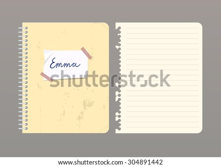 Diary Page Images RoyaltyFree Images Vectors – Diary Paper Template