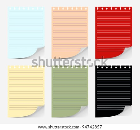 set of papers