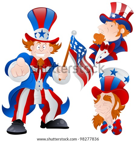 Uncle Sam Face Stock Photos, Royalty-Free Images & Vectors ...