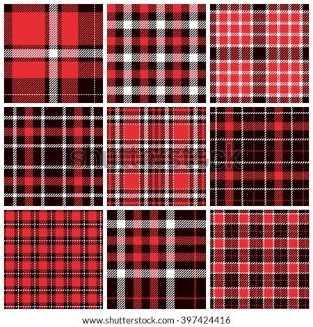 vector plaid swatch panel perfect textile stock vector. Black Bedroom Furniture Sets. Home Design Ideas
