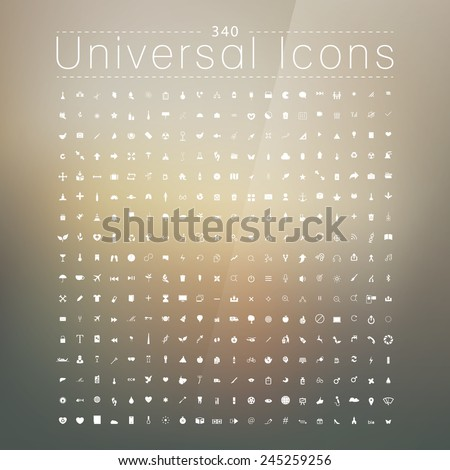 Set of 289 Quality icon ( Spa icons , Medical icons , Media icons , Money icons ,Wedding icons ,Mobile icons , Ecology icons ,Web icons, butterfly icons snowflakes icon ) - stock vector