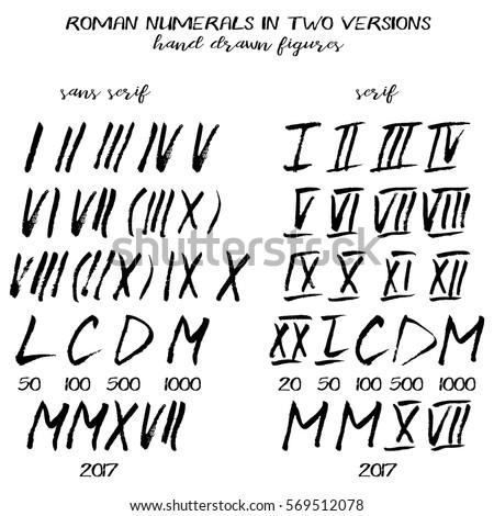 Roman Letter Font
