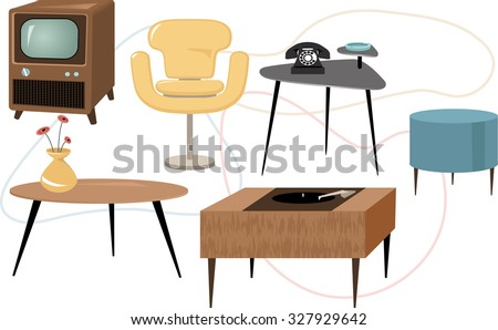 Mid Century Chair Stock Images Royalty Free Images Vectors