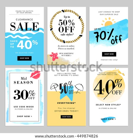 Set Flat Design Style Badges Labels Stock Vector 446473921 ...