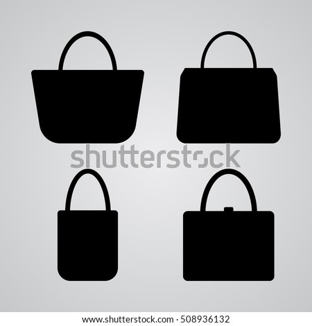 Bag Silhouette Stock Images, Royalty-Free Images & Vectors ...