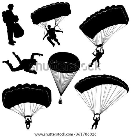 paratrooper stock images royaltyfree images amp vectors