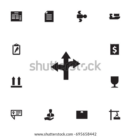 Set Of 13 Systematization Icons Set.Collection Of Client, Bill, Document And Other Elements.