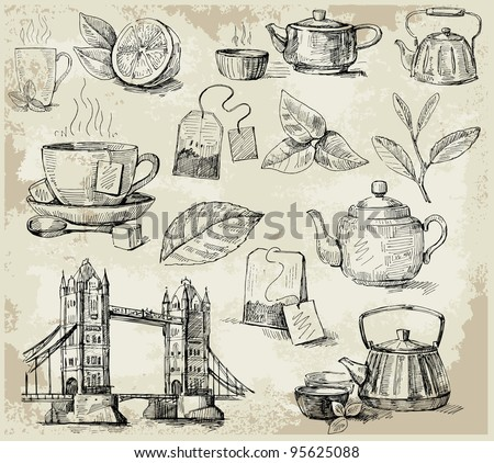 set of tea