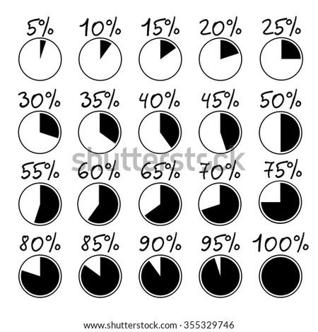 Percent Circles Stock Images, Royalty-Free Images & Vectors ...