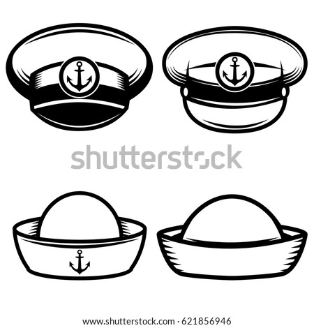 Navy hat coloring pages coloring pages for Navy sailor coloring pages