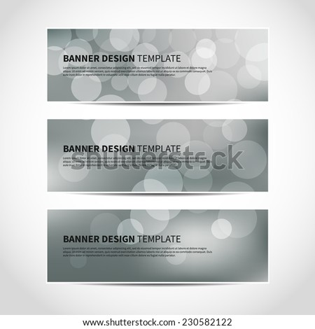 Web Banner Business Card Real Estate Stock Vector 27480853 ...