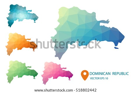 Dominican Republic Map Stock Images RoyaltyFree Images Vectors - Dominican republic map vector