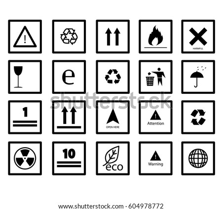 Set Packaging Symbols This Side Up 270307724