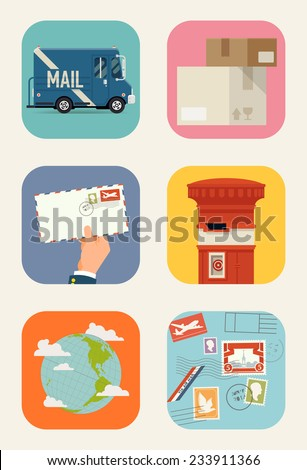 Mail Truck Stock Images, Royalty-Free Images & Vectors | Shutterstock