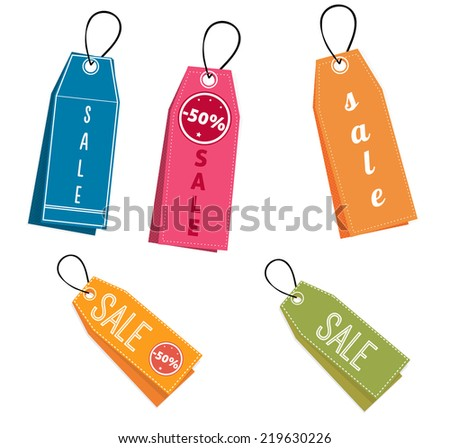 Set of vector sale banners