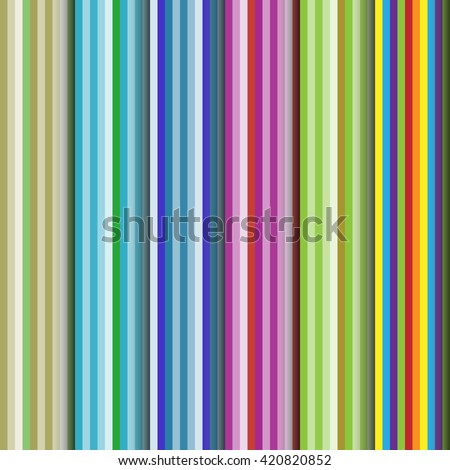 Set of vertical stripes seamless patterns.