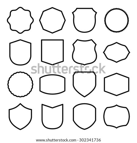 Badge Shape Images - Reverse Search