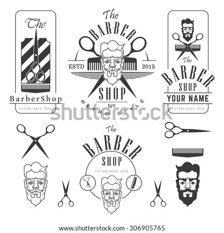 Set Vintage Barber Shop Labels Badges 306905765 likewise Visual Grammar Shapes moreover History also How To Write Graffiti Alphabet In further Tribal tattoo. on sharp design