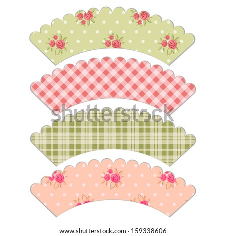 Cupcake wrapper Stock Photos, Cupcake wrapper Stock Photography
