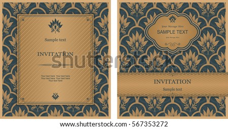 Invitation Card Design Images RoyaltyFree Images Vectors – Photo Card Invitation Cards