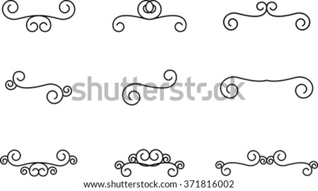 simple filigree stock images royaltyfree images