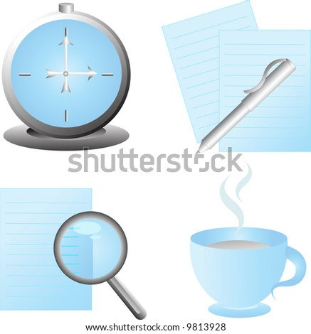 set of web icons,vector - stock vector