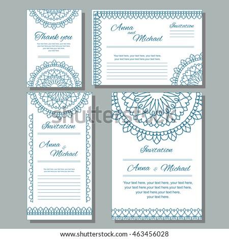 wedding invite size template