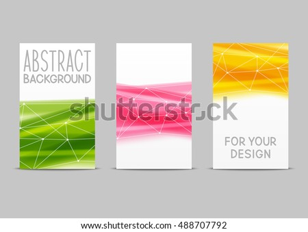 Set of 240 x 400 size vertical banners for Your design