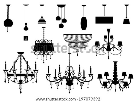 Chandelier Vector Stock Images Royalty Free Images