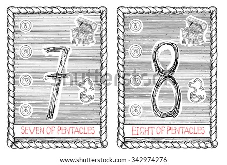 Pentacles Stock Photos Images Pictures Shutterstock Ace Of Pentacles