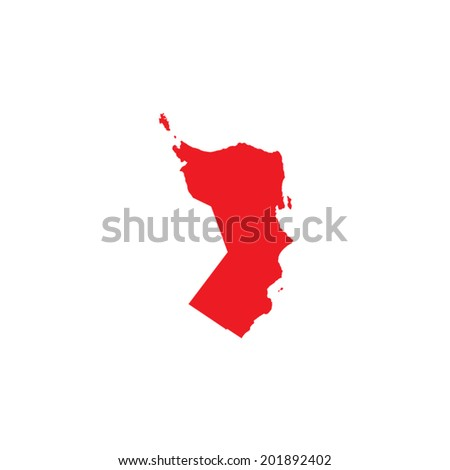 Shape of the Country of Oman