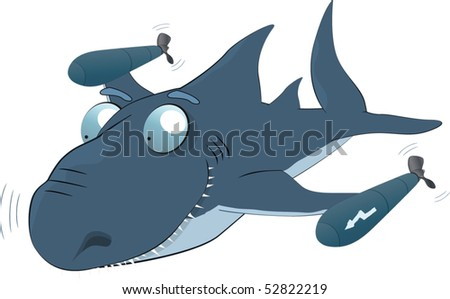Shark a torpedo or the underwater robber